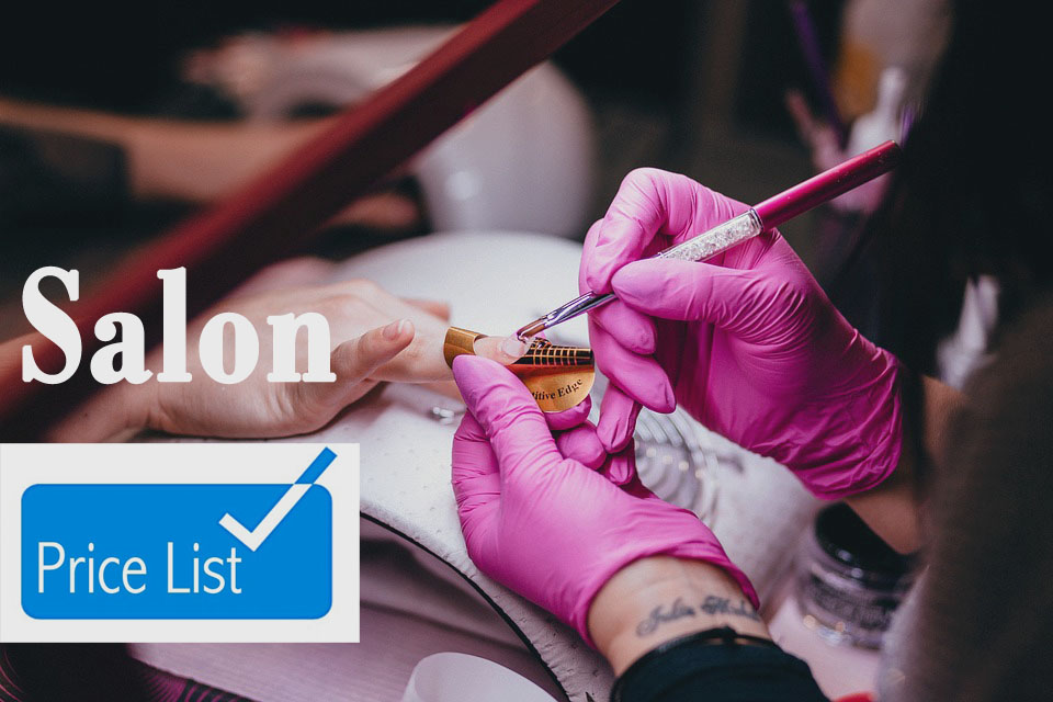 How your Salon Pricelist Can Really Sell for your Business - Yespost